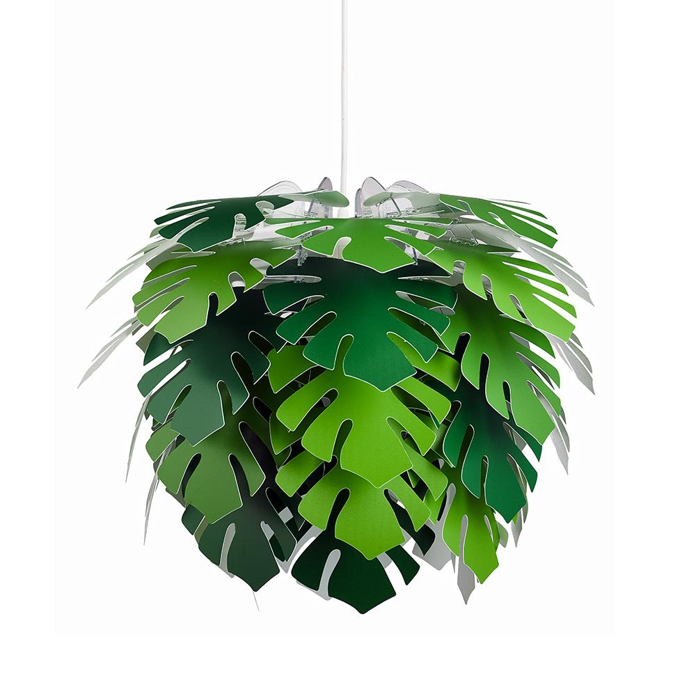 Závěsné svítidlo / lustr DybergLarsen Illumin Philo, 45 cm, zelená