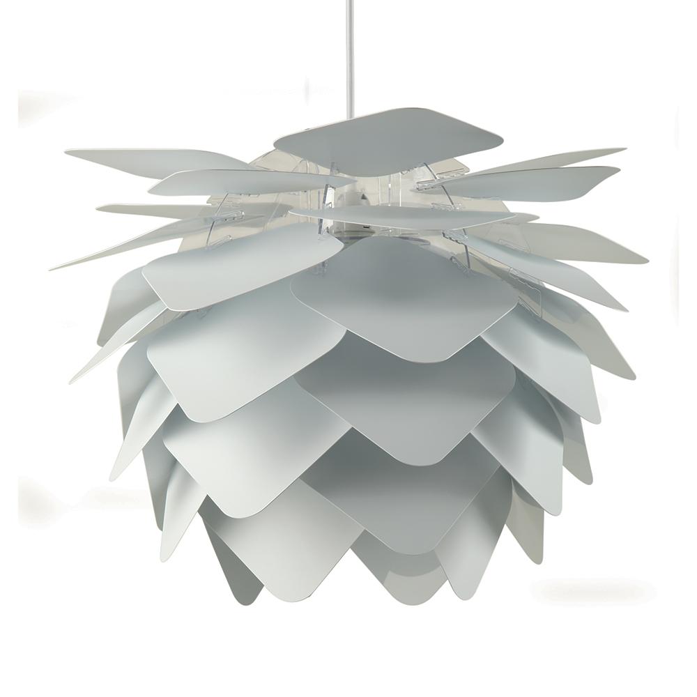 Závěsné svítidlo / lustr Illumin Round Square, 45 cm, bílá