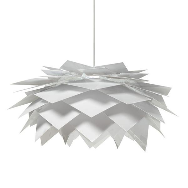 Závěsné svítidlo / lustr Kerdil 212, 60 cm, bílá