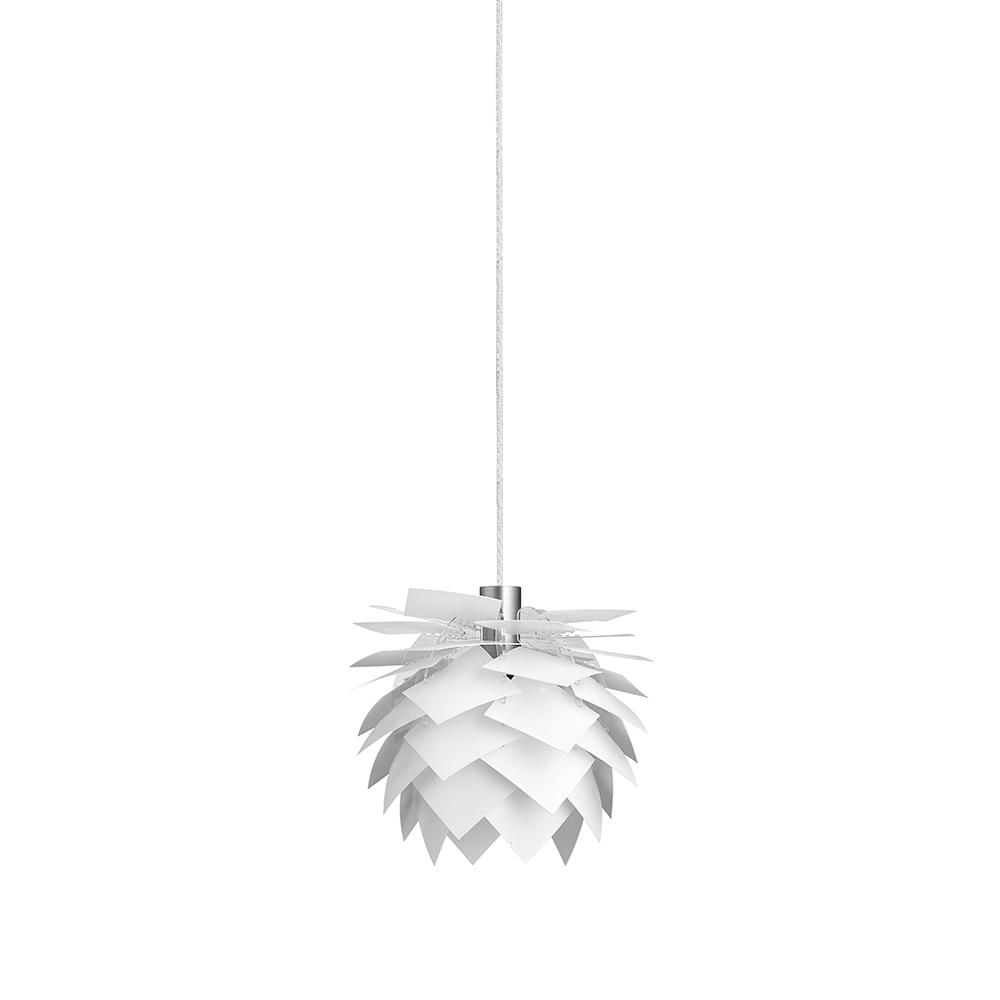 Závěsné svítidlo / lustr PineApple XS, 18 cm, bílá