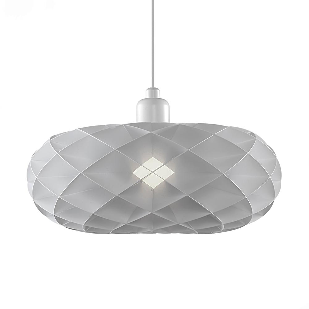 Závěsné svítidlo / lustr DybergLarsen Torus, 40 cm, bílá/bílá