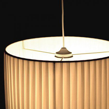 luster z vesn plissee 40 cm design outlet. Black Bedroom Furniture Sets. Home Design Ideas