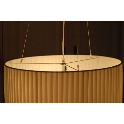 lustr z v sn plissee 55 cm designov lustr z v sn. Black Bedroom Furniture Sets. Home Design Ideas
