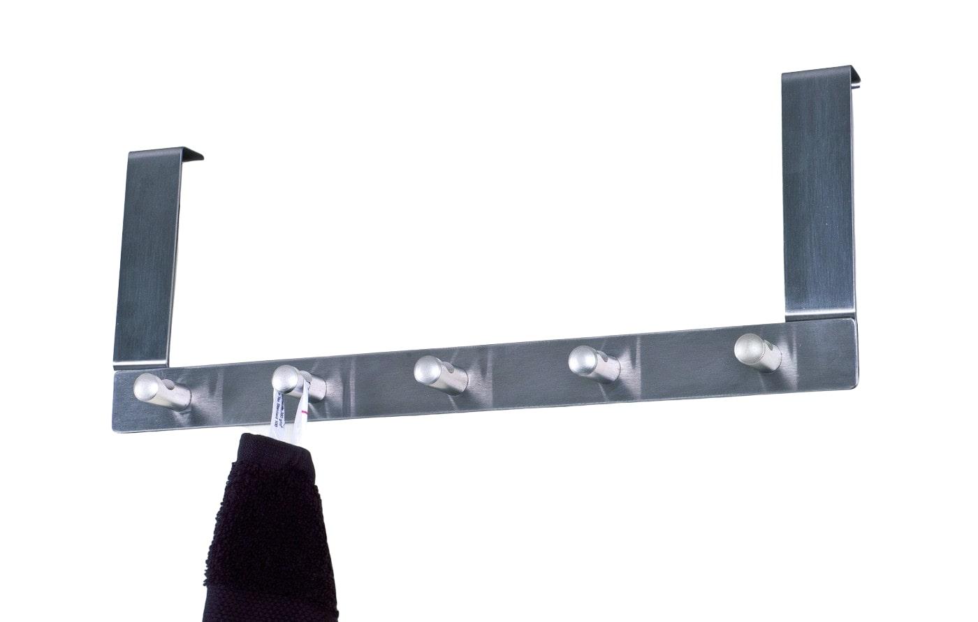 Závěsný věšák na dveře s 5 háčky Konny, 25 cm