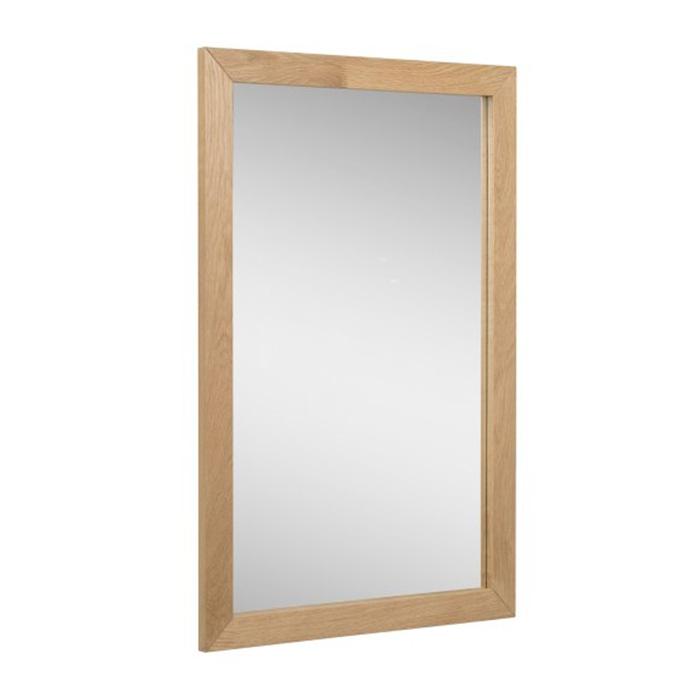 Zrcadlo s masivním rámem Elian, 90 cm
