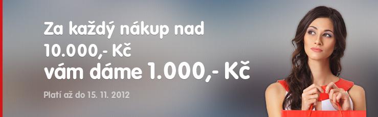 1.000,- Kč zpět!