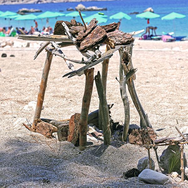Letní plážová inspirace